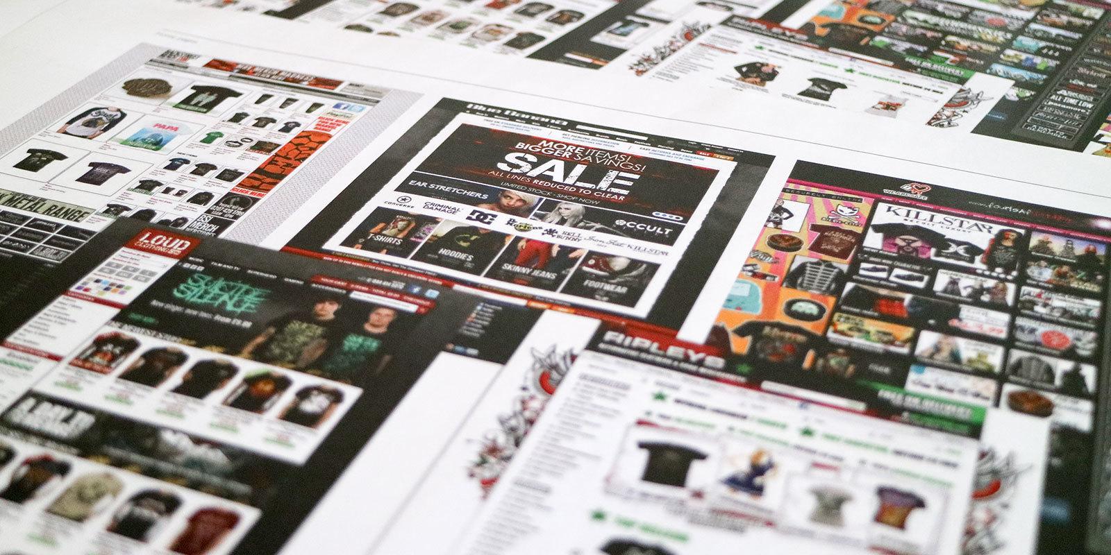 Grindstore Webpages