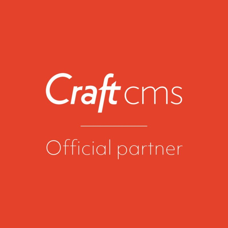 We're now an official Craft CMS partner