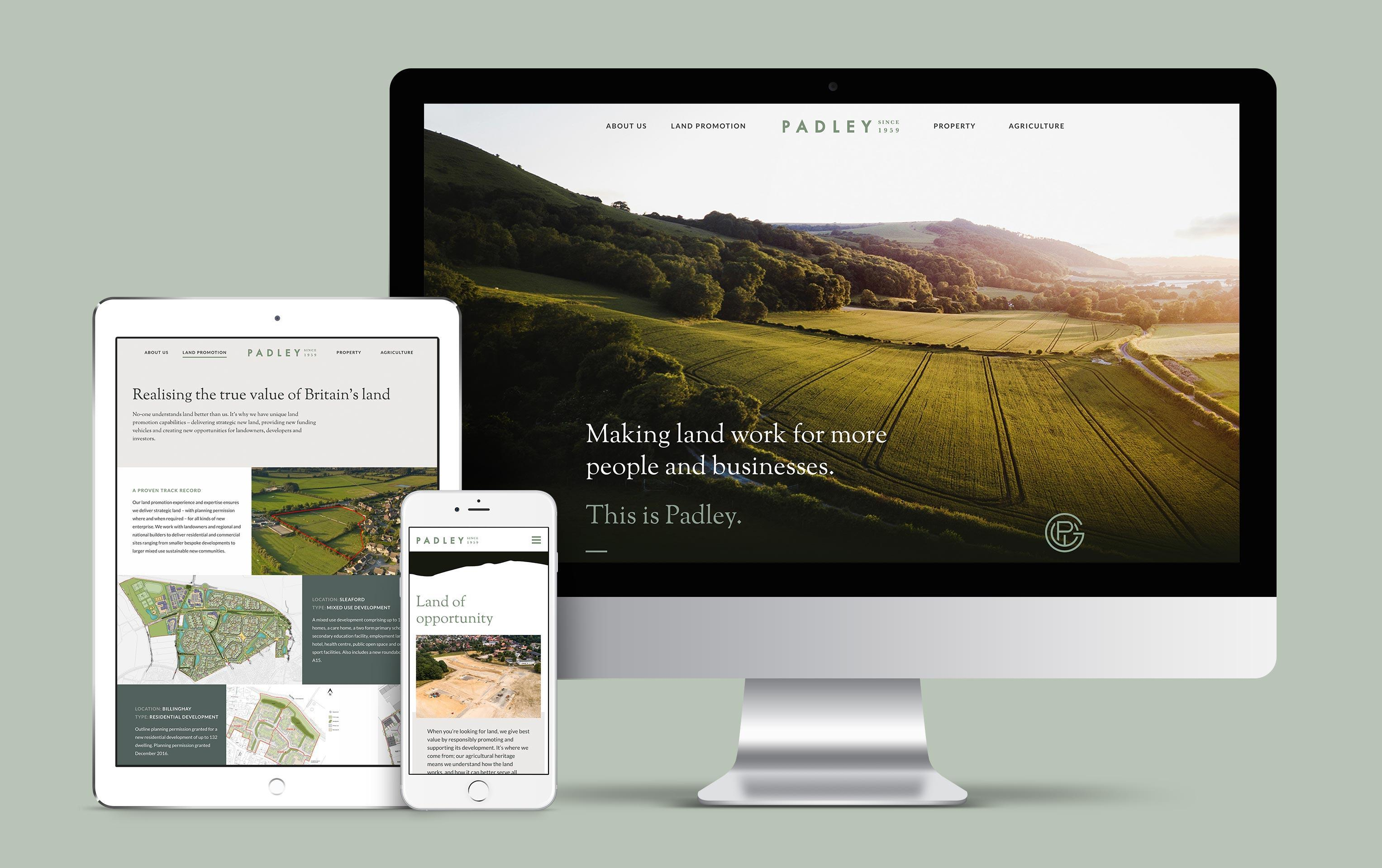 Padley Website